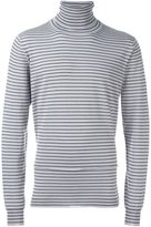 Lanvin striped roll neck jumper
