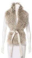 Glamour Puss Glamourpuss Mongolian Fur Stole w/ Tags