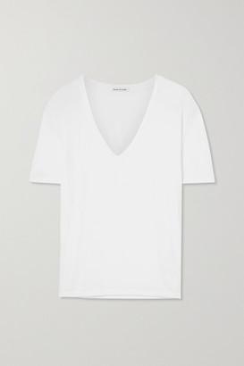 FRANCES DE LOURDES Frankie Jersey T-shirt - White