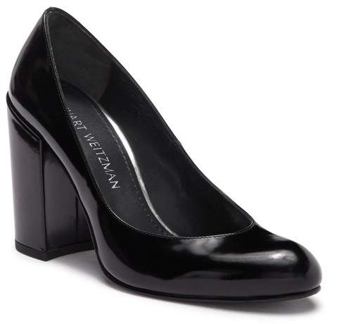 b0f025047 Stuart Weitzman Black Slip On Pumps - ShopStyle