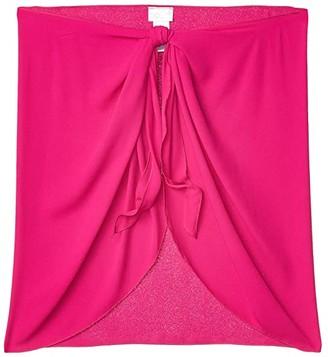 Dotti Summer Short Sarong Pareo Cover-Up (Berry) Women's Swimwear