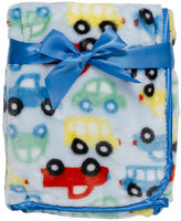 Cutie Pie Baby Cars High-Pile Faux Mink Blanket