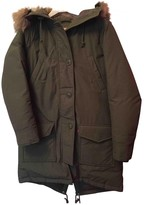 Levi's Green Coat for Women