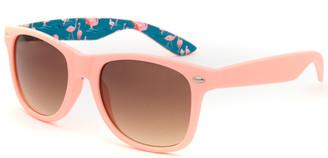 Tillys Printed Square Kids Mint Sunglasses