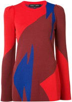 Proenza Schouler abstract jumper - women - Cotton/Polyester/Viscose/Polyimide - S