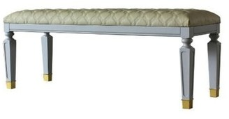 House of Hampton Thoms Faux Leather Bench