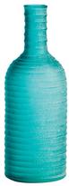 Torre & Tagus Short Carved Bottle Vase