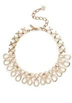 Oscar de la Renta 'Infinity Ribbon' Collar Necklace