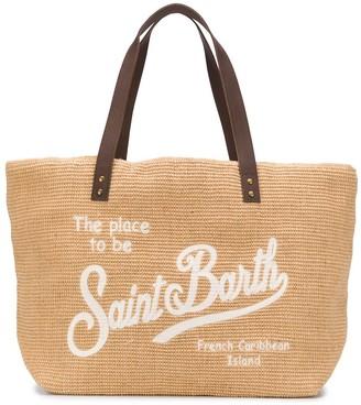 MC2 Saint Barth Slogan-Print Tote Bag