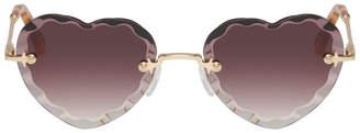 Chloé Purple Rosie Sunglasses