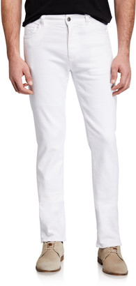 Canali Men's Slim-Straight Stretch Jeans