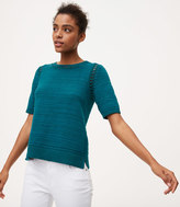 LOFT Crochet Sweater Tee