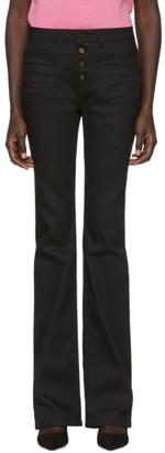 Saint Laurent Black Flare Jeans