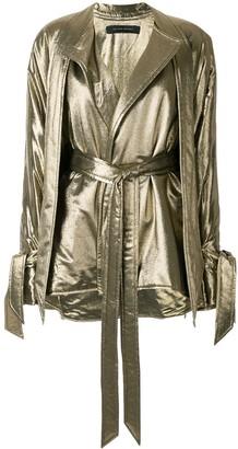 Roland Mouret Albertin lurex jacket
