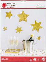 Martha Stewart M4830364 Starburst Wall Cling-holiday Lodge