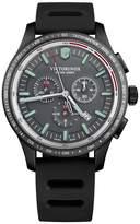 Victorinox Alliance Sport Men's Black Rubber Strap Watch
