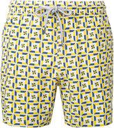 Capricode - printed swim shorts - men - Nylon - S