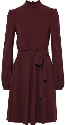 Giambattista Valli Belted Stretch-crepe Dress