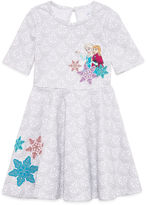 Disney Short-Sleeve Frozen Knit Dress - Girls 7-16