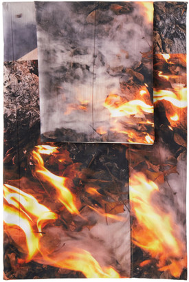 Serapis SSENSE Exclusive Fire Linen Set, Queen