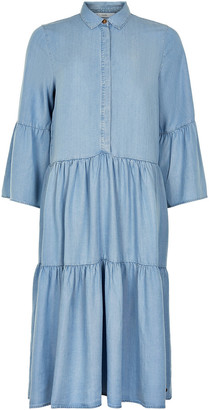 Nümph Light Blue Denim Nuanna Dress 7220802 - XS (0)