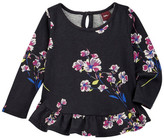 Tea Collection Marcela Ruffled Baby Top (Baby Girls)