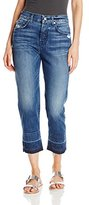 7 For All Mankind Women's The 1984 Boyfriend with Released Hem In