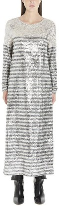 In The Mood For Love Beth Sequin Striped Dress