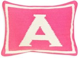"Jonathan Adler Baby Girl Letter Decorative Pillow, 12"" x 9"""