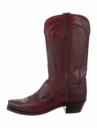 Lucchese Leather Western Boots