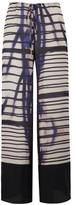 Amanda Wakeley Cayetano Blush Printed Pant