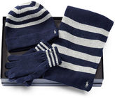 Polo Ralph Lauren Striped Cold Weather Gift Set