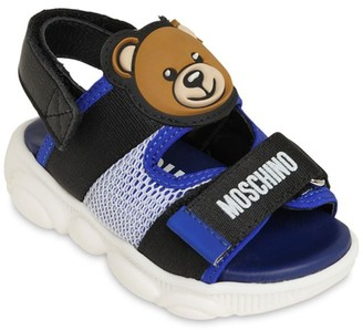 Moschino Neoprene Strap Sandals
