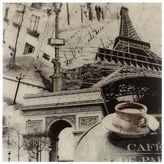 Paris Print on Glass, 60x80cm