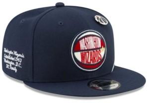 New Era Big Boys Washington Wizards 2019 On-Court Collection 9FIFTY Snapback Cap