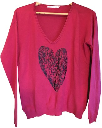 Berenice Pink Cashmere Knitwear for Women