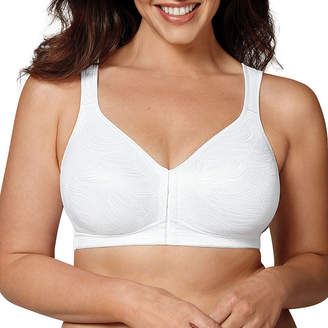 Playtex 18 Hour Posture Boost Front Close Wireless Full Coverage Bra-Use525