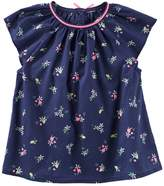Osh Kosh Oshkosh Bgosh Toddler Girl Patterned Poplin Top