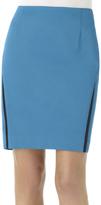 Shape Fx Blue & Black Victoria Skirt