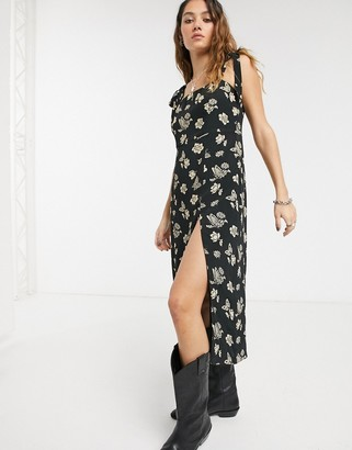 Capulet camilla floral and butterfly midi dress