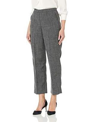Alfred Dunner Women's Full Back Elastic Proportioned Short Pant