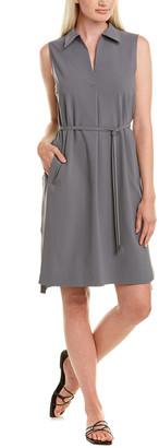 Lafayette 148 New York Robinson Linen-Blend Shirtdress