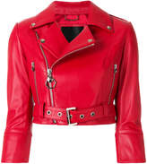 Philipp Plein Carolyn Flynn Leather Biker jacket