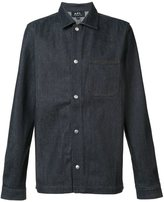 A.P.C. span button fastening shirt