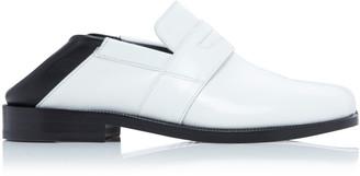 Maison Margiela Two Tone Leather Loafers