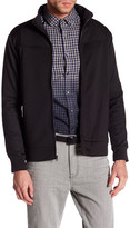 Kenneth Cole New York Mock Neck Zip-Up Jacket