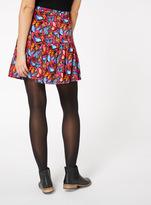 Tu clothing Multi Coloured Butterfly Print Ruffle Skirt