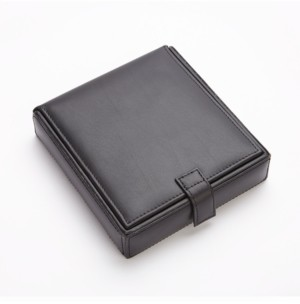 Emporium Leather Co/Royce Leather Royce New York Suede Lined Watch Cufflink Storage Case