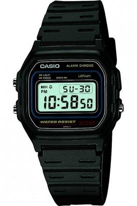 Casio Mens Retro Alarm Chronograph Watch W-59-1VQES