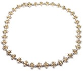 Tiffany & Co. Lynn Platinum 18K Yellow Gold Diamond Necklace